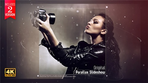 Original Parallax Slideshow - After Effects Project (Videohive)