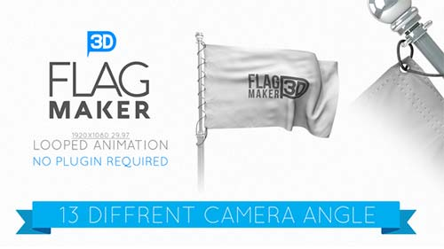 Flag Maker - After Effects Project (Videohive)