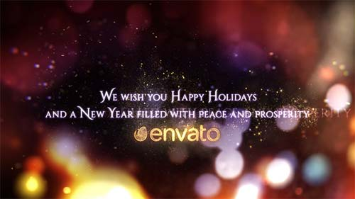 Season's Greetings - Christmas And New Year Wishes - After Effects Project (Videohive)