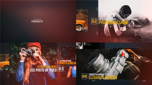 Sliding Opener - Photo Slideshow - After Effects Project (Videohive)