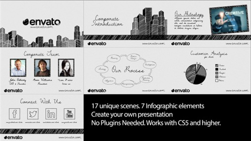 Sketch Corporate Video Pack - After Effects Project (Videohive)