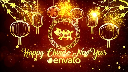 Chinese New Year Wishes - After Effects Project (Videohive)