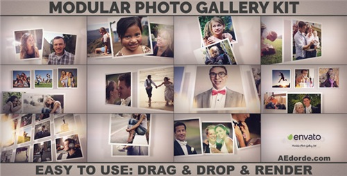 Modular Photo Gallery Kit - After Effects Project (Videohive)