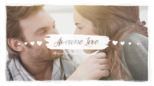 Awesome Love - After Effects Project (Videohive)