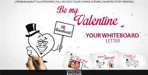 Valentine's Day Love Letter - After Effects Project (Videohive)