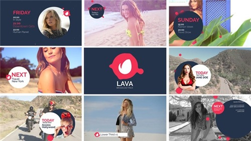 Lava Broadcast Package - After Effects Project (Videohive)