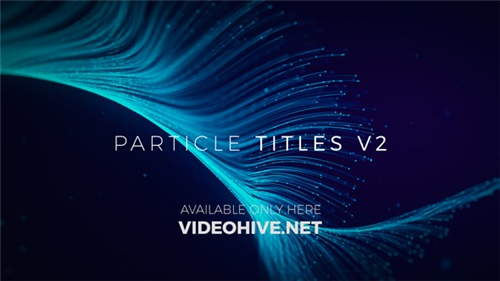 Particle Titles V2 - After Effects Project (Videohive)