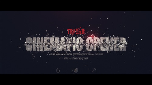 Trailer I Cinematic Opener - After Effects Project (Videohive)