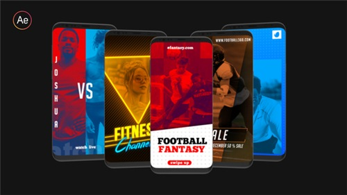 Sports Instagram Stories - After Effects Project (Videohive)