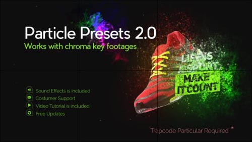 Particle Presets - After Effects Project (Videohive)