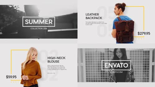 Fashion Market - After Effects Project (Videohive)