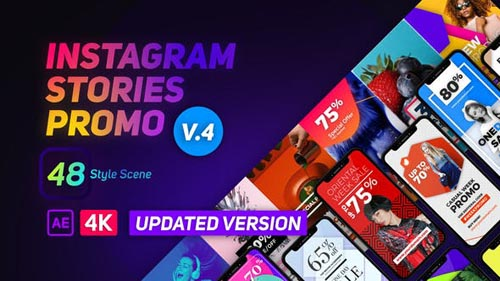 Instagram Stories Promo - After Effects Project (Videohive)