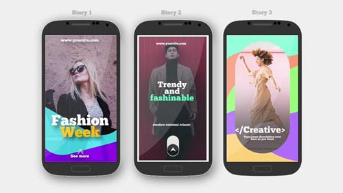 Instagram Stories V.4 - After Effects Project (Videohive)