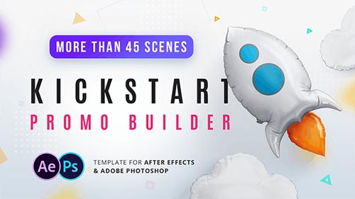 Kickstart Promo Builder - After Effects Project (Videohive)