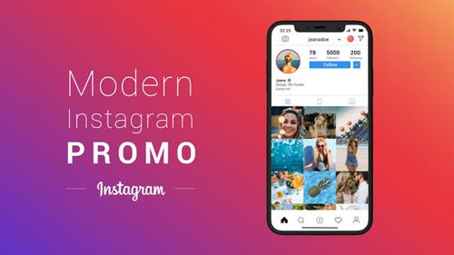 Modern Instagram Promo - After Effects Project (Videohive)