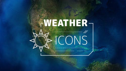 Weather Forecast Icons - After Effects Project (Videohive)