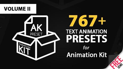 Text Preset Volume II for Animation Kit - After Effects Project (Videohive)