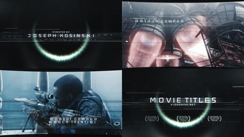 Movie Titles - After Effects Project (Videohive)