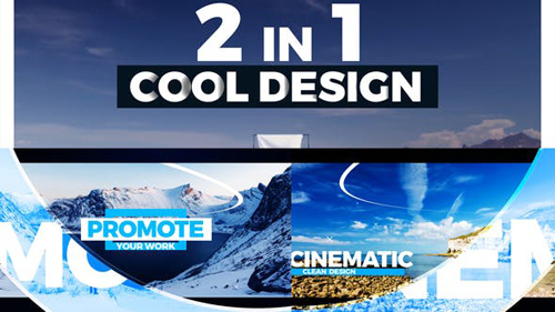 Promo Opener 2 in 1 - After Effects Project (Videohive)