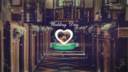 Wedding Parallax Slideshow - After Effects Project (Videohive)