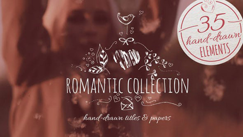 Romantic Collection Hand-drawn Titles - After Effects Project (Videohive)