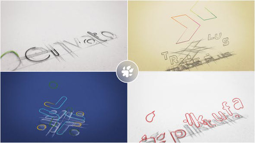 Sketch Logo Build - After Effects Project (Videohive)