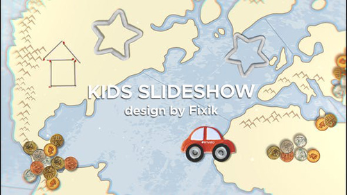 Kids Slideshow II | After Effects Template - After Effects Project (Videohive)