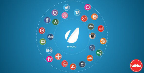 25 Social Networks Pack - After Effects Project (Videohive)