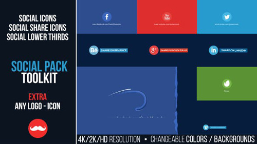 Social Pack Toolkit - After Effects Project (Videohive)