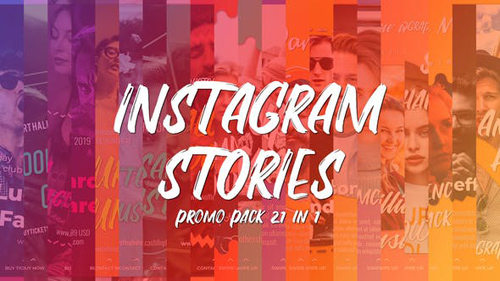 Instagram Stories Promo Pack 21 in 1 - After Effects Project (Videohive)