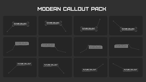 Modern Callout Packs - After Effects Project (Videohive)