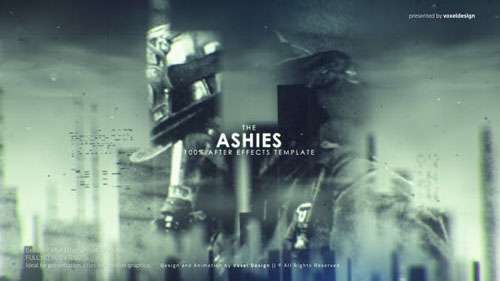 ASHES Cinematic Titles - After Effects Project (Videohive)