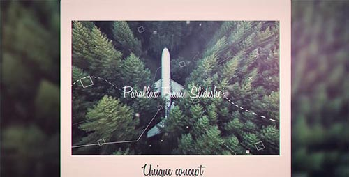 Parallax Frame Slideshow - After Effects Project (Videohive)