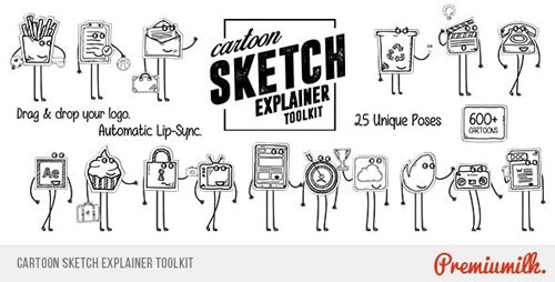 Cartoon Sketch Explainer Toolkit - After Effects Project (Videohive)
