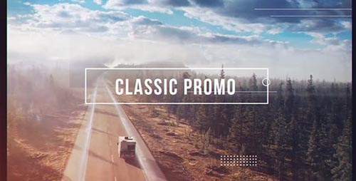 Classic Promo - After Effects Project (Videohive)