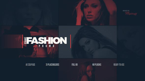 Dynamic Fashion Promo - After Effects Project (Videohive)