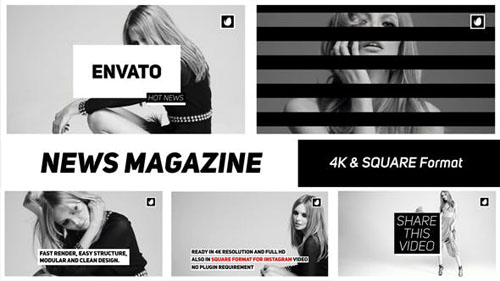 News Magazine - After Effects Project (Videohive)
