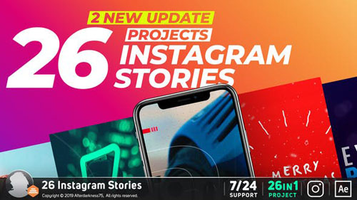 Instagram Stories 22798802 - After Effects Project (Videohive)
